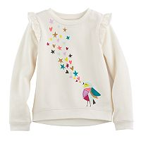 Girls 4-10 Jumping Beans® Ruffle Pullover