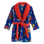 Toddler Boy Paw Patrol Chase, Rubble & Marshall Bath Robe