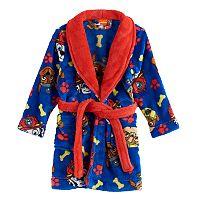 Toddler Boy Paw Patrol Chase, Rubble & Marshall Bath Robe