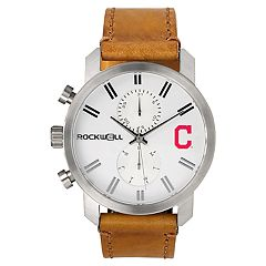 Men's Rockwell Cleveland Indians Apollo Chronograph Watch