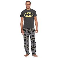 Men's DC Comics Batman Tee & Microfleece Lounge Pants Set