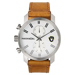 Men's Rockwell Milwaukee Brewers Apollo Chronograph Watch