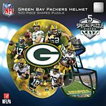Green Bay Packers 500-Piece Helmet Puzzle