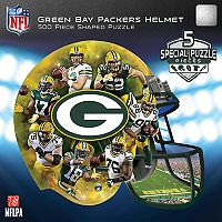 Green Bay Packers 500-Piece Helmet Puzzle