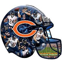 Chicago Bears 500-Piece Helmet Puzzle