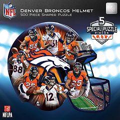 Denver Broncos 500-Piece Helmet Puzzle