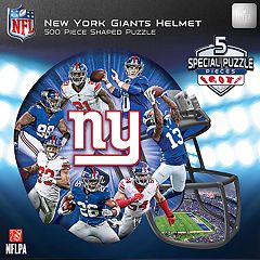 New York Giants 500-Piece Helmet Puzzle