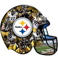 Pittsburgh Steelers 500-Piece Helmet Puzzle