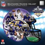 Baltimore Ravens 500-Piece Helmet Puzzle