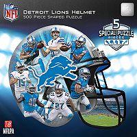 Detroit Lions 500-Piece Helmet Puzzle