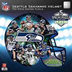 Seattle Seahawks 500-Piece Helmet Puzzle