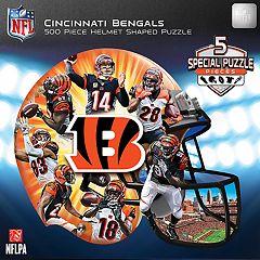 Cincinnati Bengals 500-Piece Helmet Puzzle