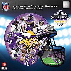 Minnesota Vikings 500-Piece Helmet Puzzle
