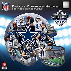 Dallas Cowboys 500-Piece Helmet Puzzle
