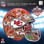 Kansas City Chiefs 500-Piece Helmet Puzzle