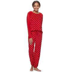 Women's SONOMA Goods for Life™ Velour 2-piece Sleepwear Set