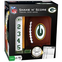Green Bay Packers Shake 'n' Score Travel Dice Game