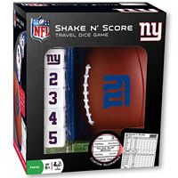 New York Giants Shake 'n' Score Travel Dice Game