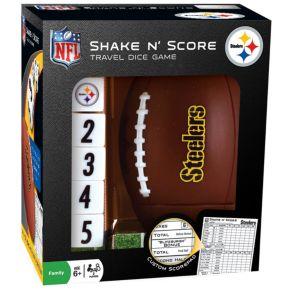 Pittsburgh Steelers Shake 'n' Score Travel Dice Game