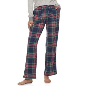 Plus Size SONOMA Goods for Life™ Pajamas: Nordic Nights Flannel Pants