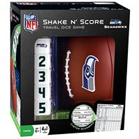 Seattle Seahawks Shake 'n' Score Travel Dice Game