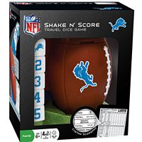 Detroit Lions Shake 'n' Score Travel Dice Game