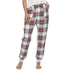 Women's SONOMA Goods for Life™ Pajamas: Nordic Nights Flannel Jogger Pants