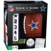 Dallas Cowboys Shake 'n' Score Travel Dice Game