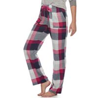 Women's SONOMA Goods for Life™ Pajamas: Nordic Nights Flannel Pants