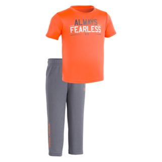 "Baby Boy Under Armour ""Always Fearless"" Tee & Pants Set"