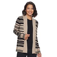 Women's Dana Buchman Ribbed Open-Front Cardigan