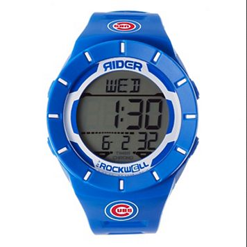 Men's Rockwell Chicago Cubs Coliseum Digital Watch