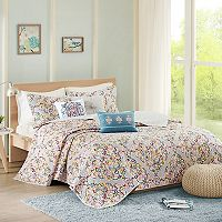 Madison Park 6-piece Tesimo Quilted Coverlet Set