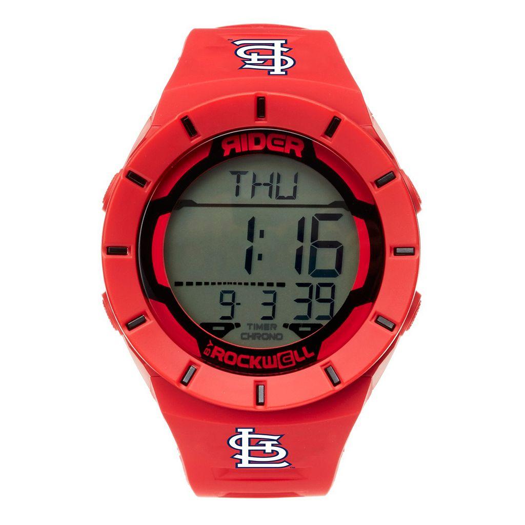 Men's Rockwell St. Louis Cardinals Coliseum Digital Watch