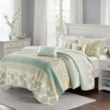 Madison Park 6-piece Felicity Quilted Coverlet Set