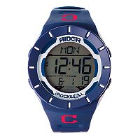 Men's Rockwell Cleveland Indians Coliseum Digital Watch