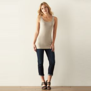 Women's SONOMA Goods for Life? Long Layering Tank