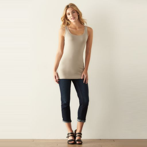 Women's SONOMA Goods for Life™ Long Layering Tank