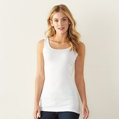 66f50065b36b7 Women s SONOMA Goods for Life™ Long Layering Tank