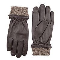 Men's Dockers InteliTouch Leather Touchscreen Gloves