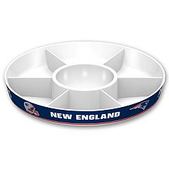 New England Patriots NFL Divided Party Platter