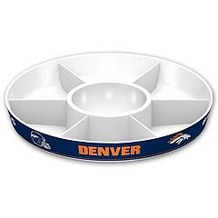 Denver Broncos NFL Divided Party Platter