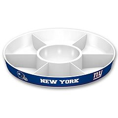 New York Giants NFL Divided Party Platter