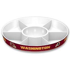 Washington Redskins NFL Divided Party Platter