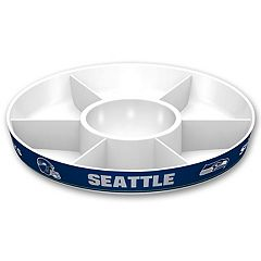 Seattle Seahawks NFL Divided Party Platter
