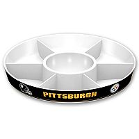 Pittsburgh Steelers NFL Divided Party Platter