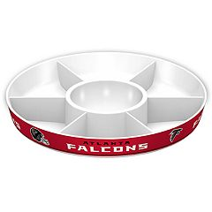 Atlanta Falcons NFL Divided Party Platter