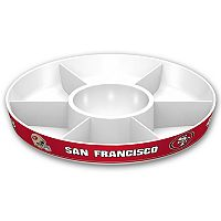 San Francisco 49ers NFL Divided Party Platter