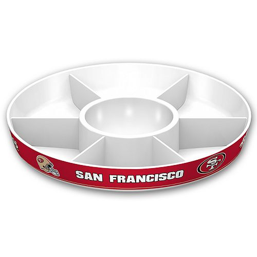 San Francisco 49ers NFL Divided Party Platter