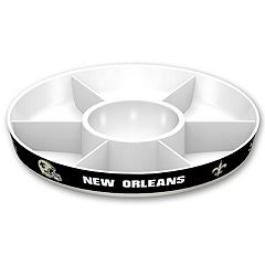 New Orleans Saints NFL Divided Party Platter